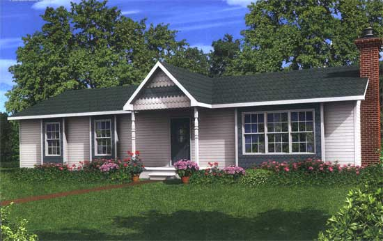 Ranch modular home